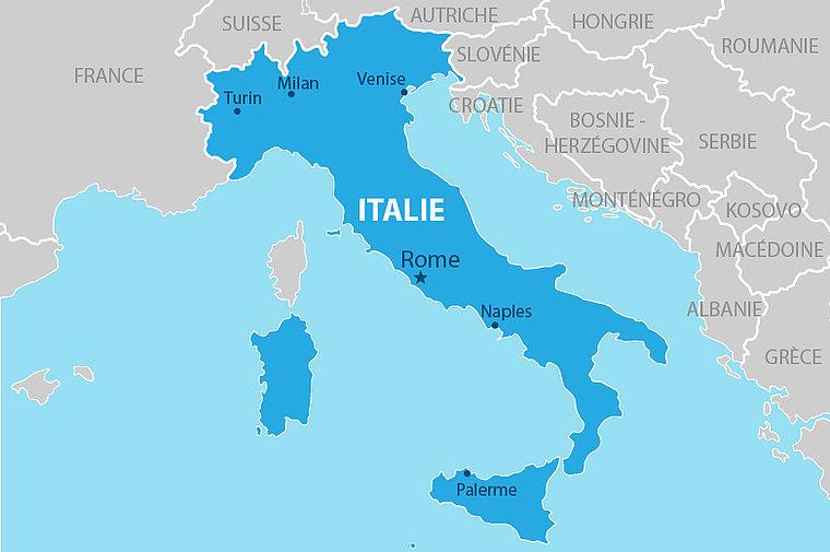Coût de l'immatriculation d'une voiture Italienne  en France