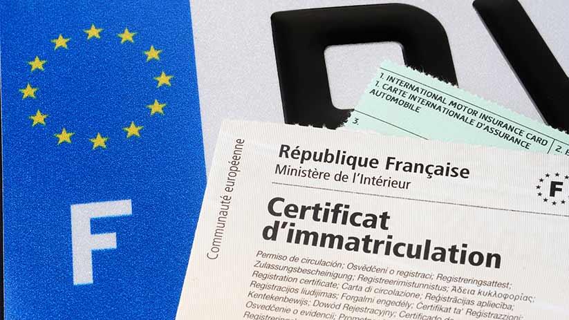Importation d'un véhicule étranger : Certificat de Conformité